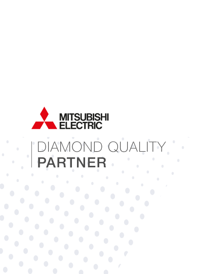 air cool engineering NI is a Mitsubishi Electric Diamond Quality Partner
