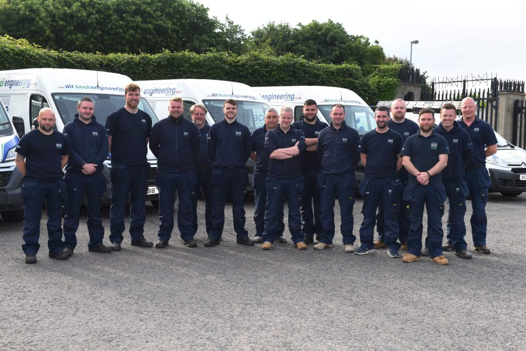 air cool engineering NI installation, service and maintenance team
